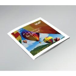 21x21cm boekje kleur