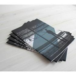 A-5 boekje zwart/wit staand