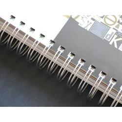 A-5 kleur wire-O gebonden